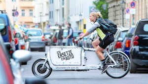 Cargo cycle electric assist in germany